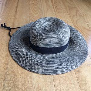 SPF solar escape large floppy straw woven hat